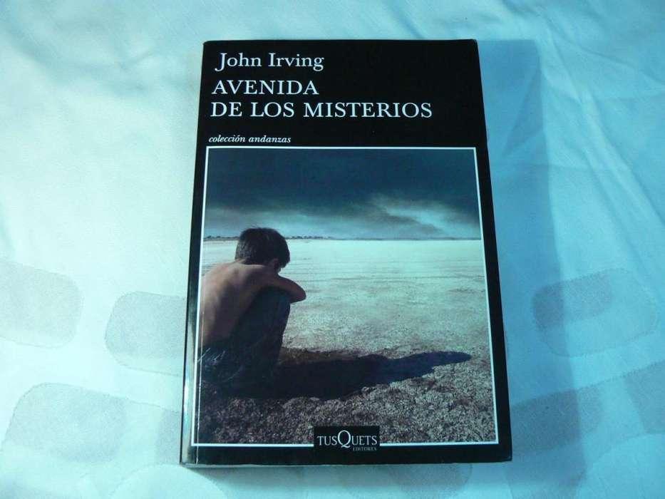Libro Avenida de los Misterios por John Irving. Tusquets Editores.