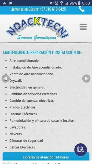 Venta E Instalacion Aires Y Electricidad