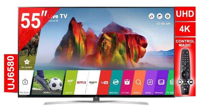 Lg Smart Tv 55 UJ6580 Ultra HD NUEVOS GARANTIA Con control Magic Tenemos el MEJOR PRECIO !!!!!