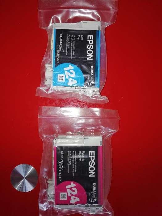 Cartuchos de Impresora Epson 124