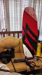 Equipo Kitesurf Griffinkite 12 M. Con Tabla Naish