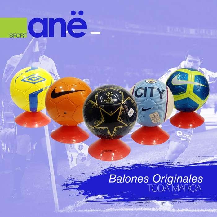 Balón original (Adias, Nike, Umbro)