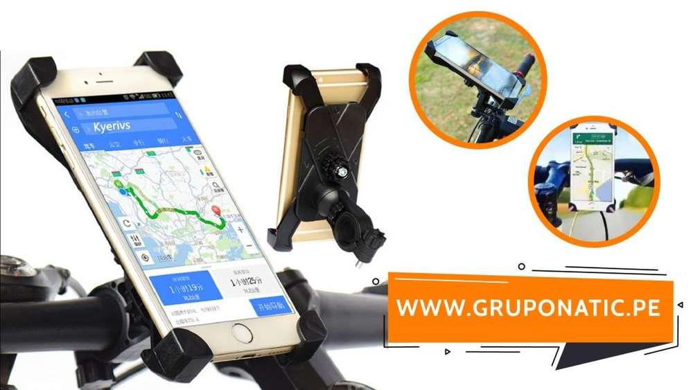 Soporte De Celular Para Bicicleta o Moto Gruponatic San Miguel Surquillo Independencia La Molina 941439370