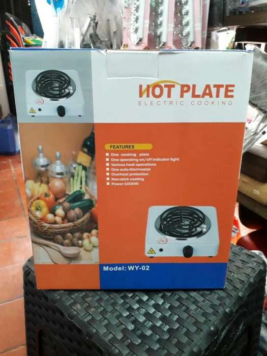 Estufa Fogon 1 Puesto Marca Hot Plate