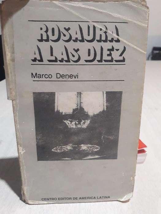 Rosaura a Las Diez. Marco Denevi