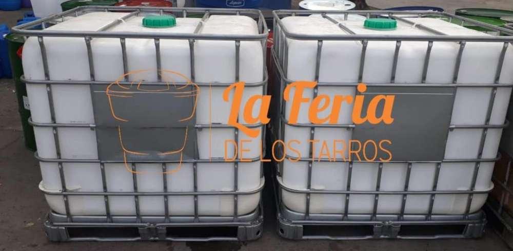 Isotanques Tarros Tanque 1000 lts LIMPIOS