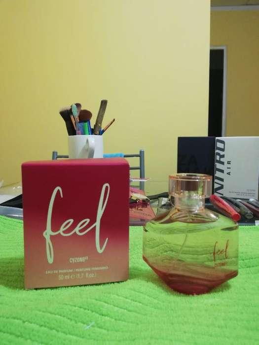 Perfume de Mujer Feel Cyzone