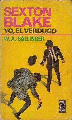 Libro: Yo, el verdugo, de W.A. Ballinger [novela de detectives]