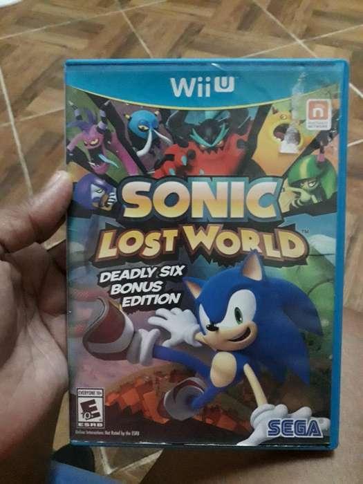Juego Wiiu Sonic Lost Word Economico