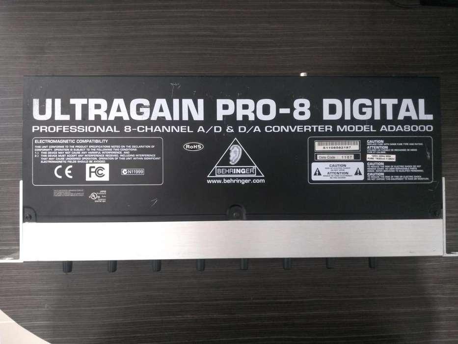 Behringer Ultragain Digital Ada8000