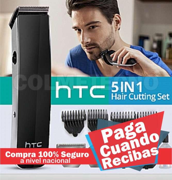 Maquina Barbera y patillera 5 en 1 HTC