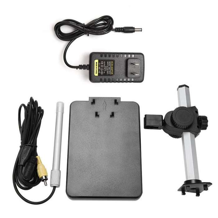 Microscopio AV 2MP Digital microscopio 600X para TV 110240 V de alta calidad