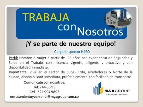 Inspector HSEQ / SISO