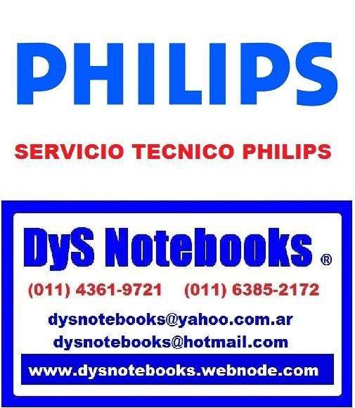 PHILIPS SERVICIO TECNICO NOTEBOOK NETBOOK LAPTOP
