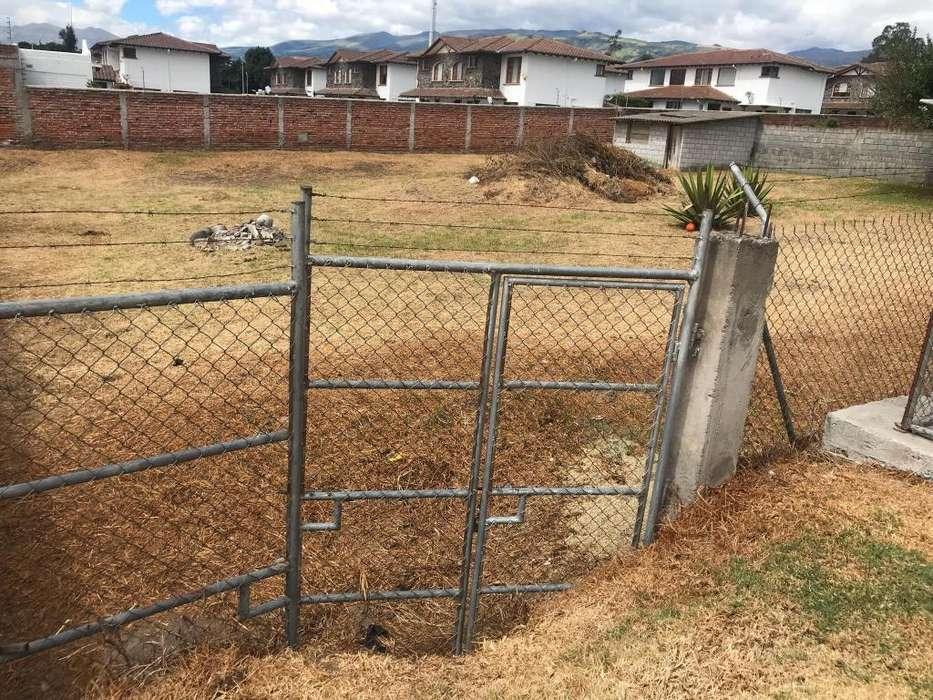 Terreno de 1000m2 en venta en Tumbaco por motivo de viaje