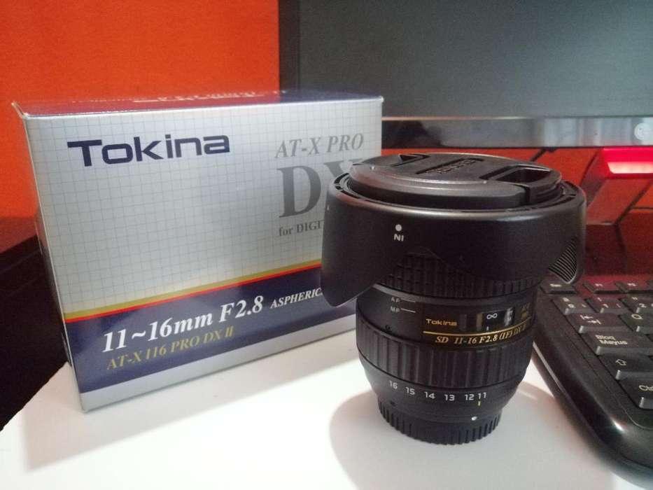 Lente Tokina 11-16mm F. 2.8