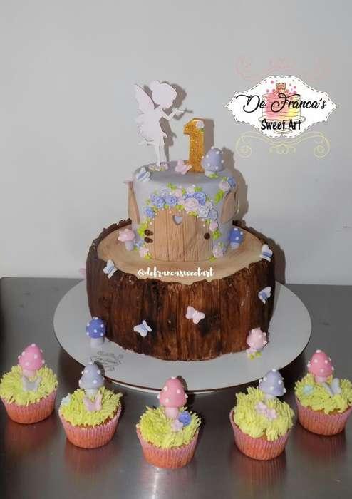 Torta Bosque de Hadas