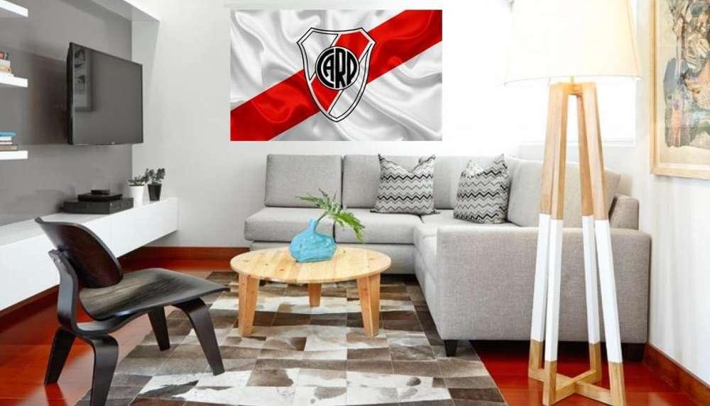 Cuadro River Plate Impreso 80x120cm