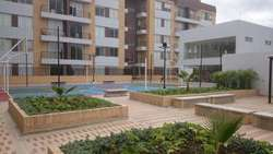 Apartamento con amplia terraza en Cajicá