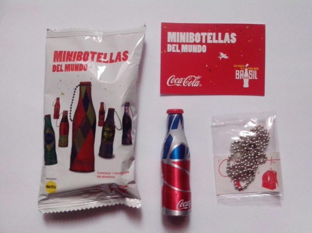 Botellitas De Coca Cola Del Mundial Brasil 2014 Nuevas Selladas