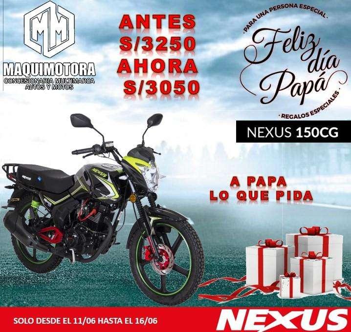 MOTO LINEAL NEXUS 150CG