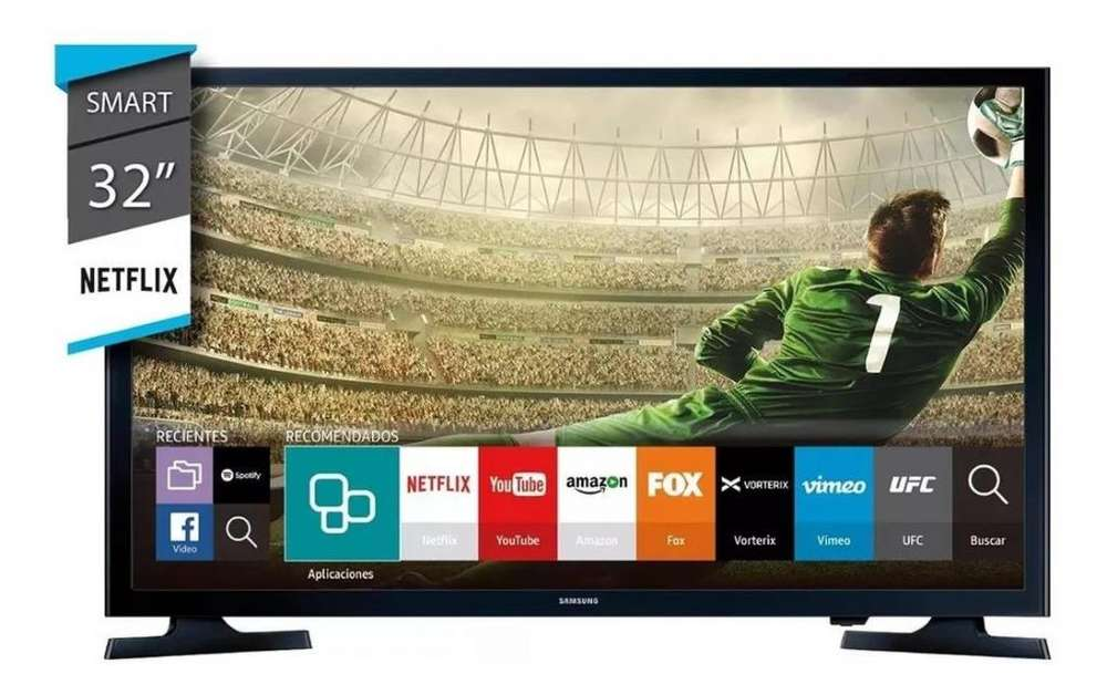 Tv Led Samsung 32 Pulgadas UN32J4290 TDT Smart TV 2018