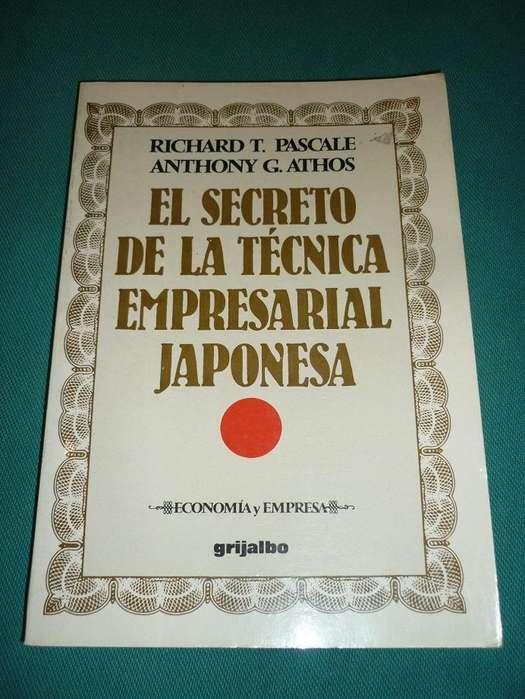 EL SECRETO DE LA TECNICA EMPRESARIAL JAPONESA RICHARD PASCALE Y ANTHONY ATHOS LIBRO GRIJALBO