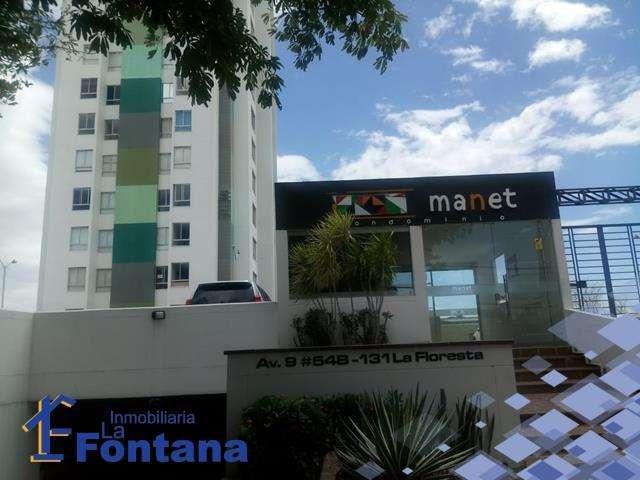 Cod: 3013 Se Arrienda <strong>apartamento</strong> Ubicado en el edificio Manet Variante la Floresta
