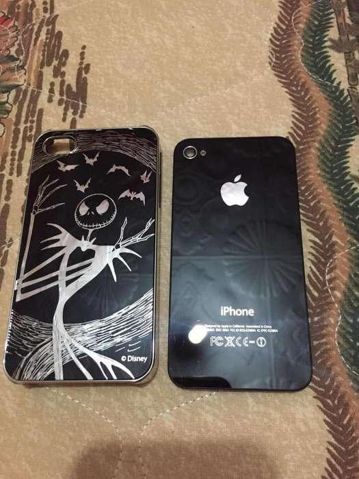 Tapa Original de iPhone 4 Mas Protector.