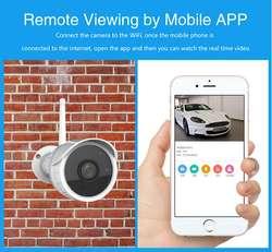 Camara de seguridad Ip Inalambrica Wifi 720p Exteriores Onvif Remota