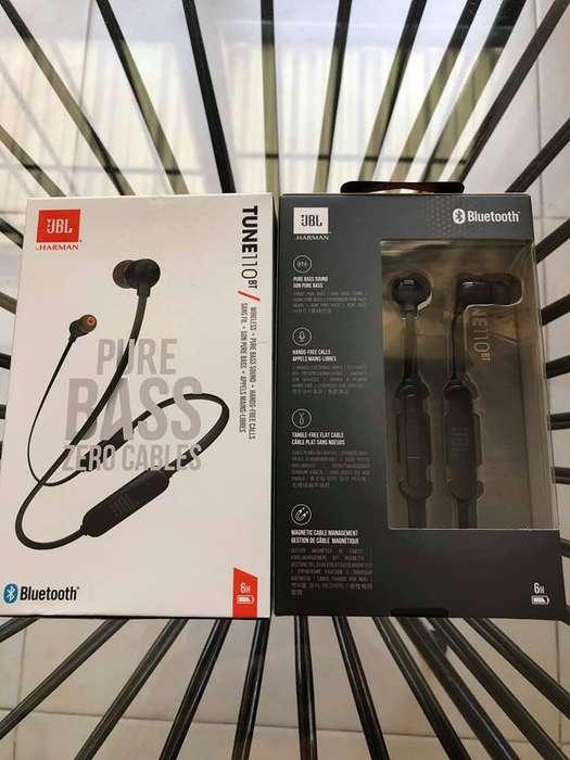 Auriculares Bluetooth JBL T110Bt Originales, NUEVOS