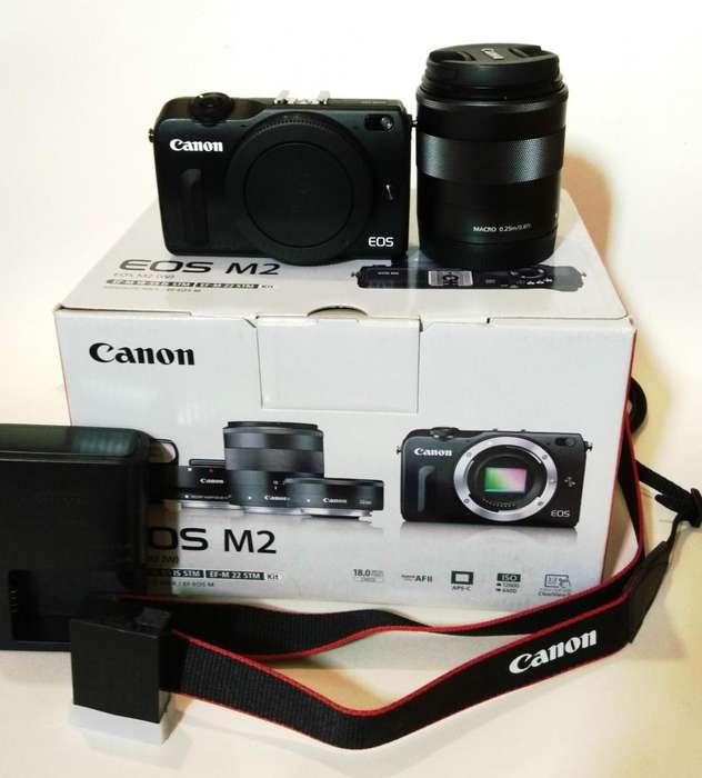 Camara profesional Canon EOS Mark II M2 WIFI