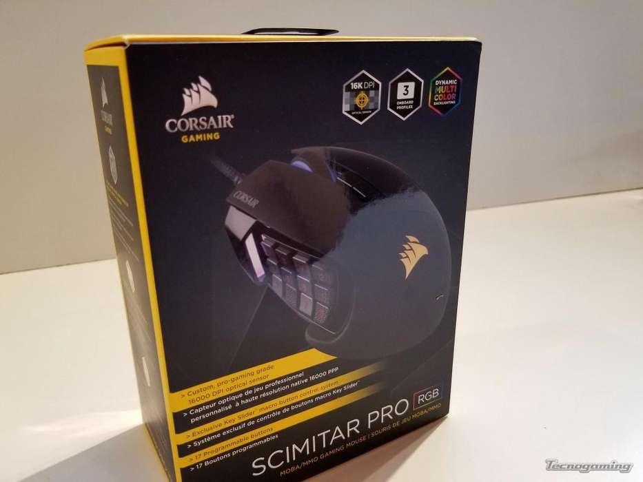 Mouse Corsair Scimitar Pro Gaming Mmo Wow