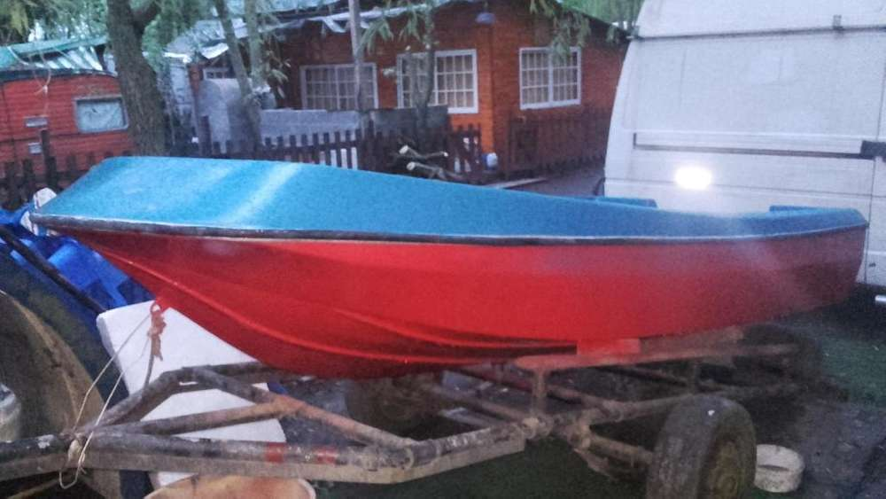 bote lagunero 3,50 reparado a nuevo