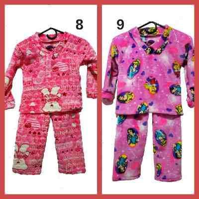 fabrico y vendo pijamas térmicas para niños y para toda la familia al por mayor y al deta