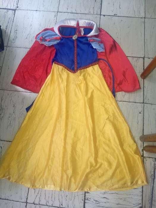 Vendo Disfraz de Blanca Nieves