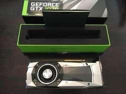 Tarjeta Grafica Nvidia Geforce Gtx 1070 Founders Edition 8GB