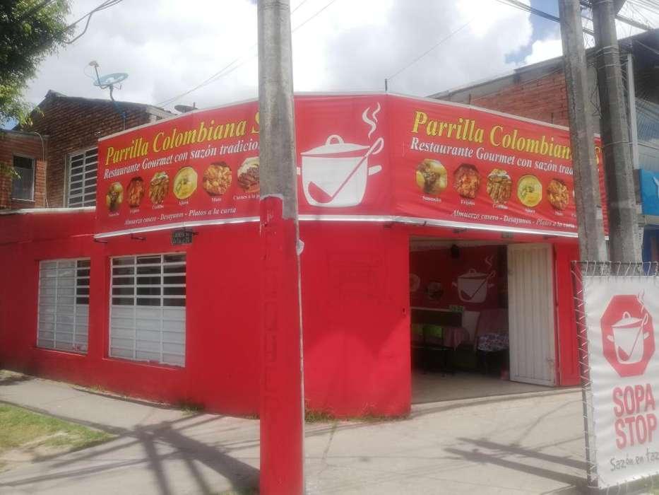 Restaurante acreditado rentando excelente ubicacion ventas fijas oportunidad 35.000.000