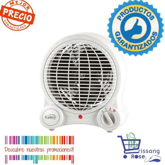 Oferta Calefactor Calentador Kalley