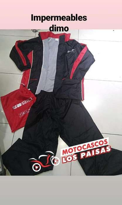 Impermeable Completo para Moto