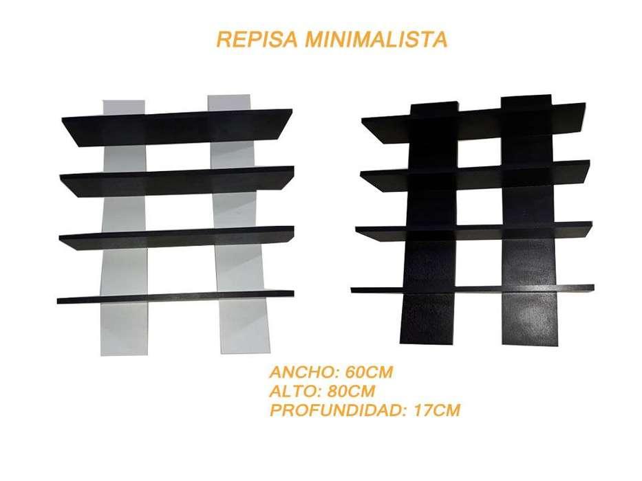 Repisa minimalista