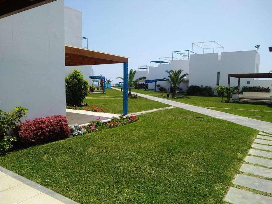 Alquiler de Casa de Playa Cond. Asia Azul Playa Sarapampa, 108 Km