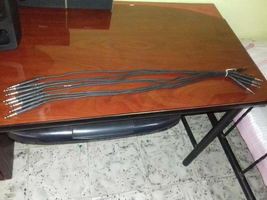 Cables de Coneccion de Audio ADC BK2