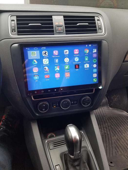 VW VOLKSWAGEN VENTO ESTEREO CENTRAL MULTIMEDIA STEREO CON ANDROID, GPS, BLUETOOTH