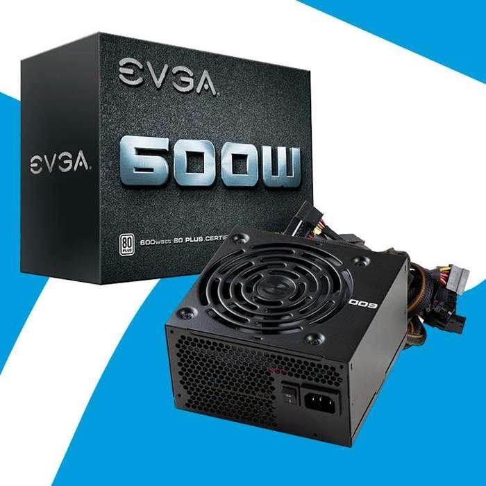 Acp - Fuente De Poder Evga W1 600w 80 Plus White Incluye Iva