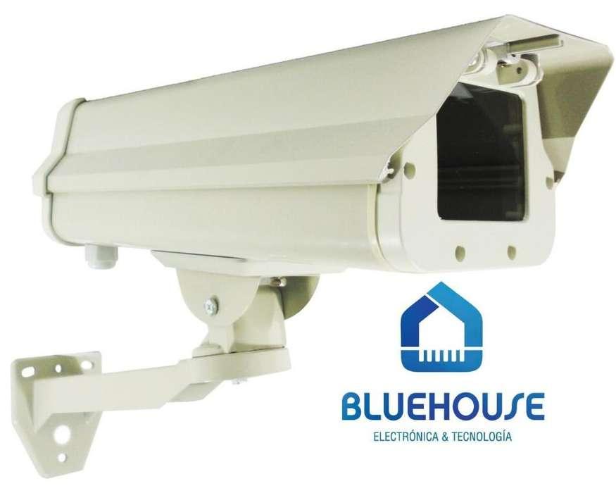 Gabinete Housing Antivandálico Para Camara de Vigilancia