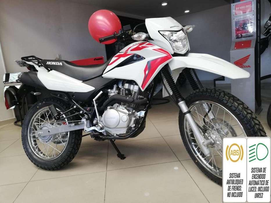 Xr 150l Modelo 2020 Blanco con Rojo.
