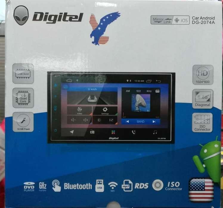 Radio Digitel Wifi <strong>gps</strong> Dvd Usb Sd Bt