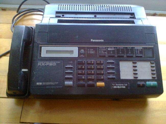 <strong>fax</strong> Panasonic kxf90
