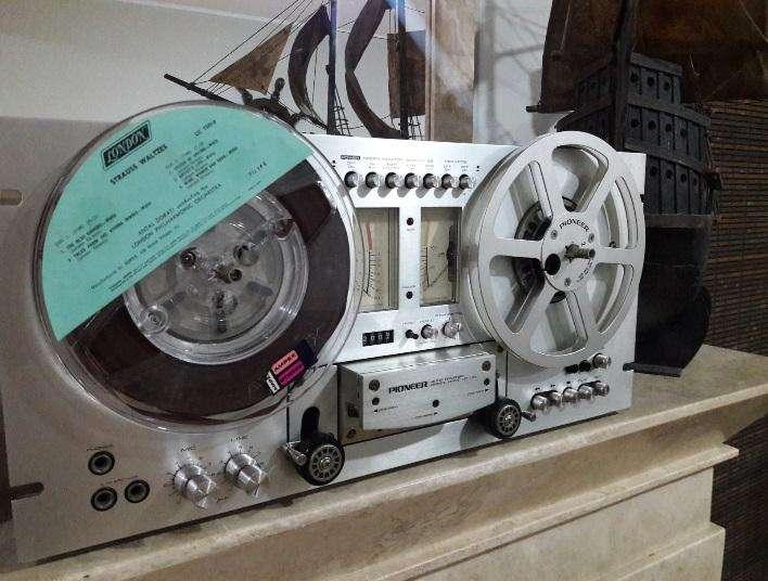 en venta Pioneer RT-707 Reel to Reel Tape Recorder - sansui technics